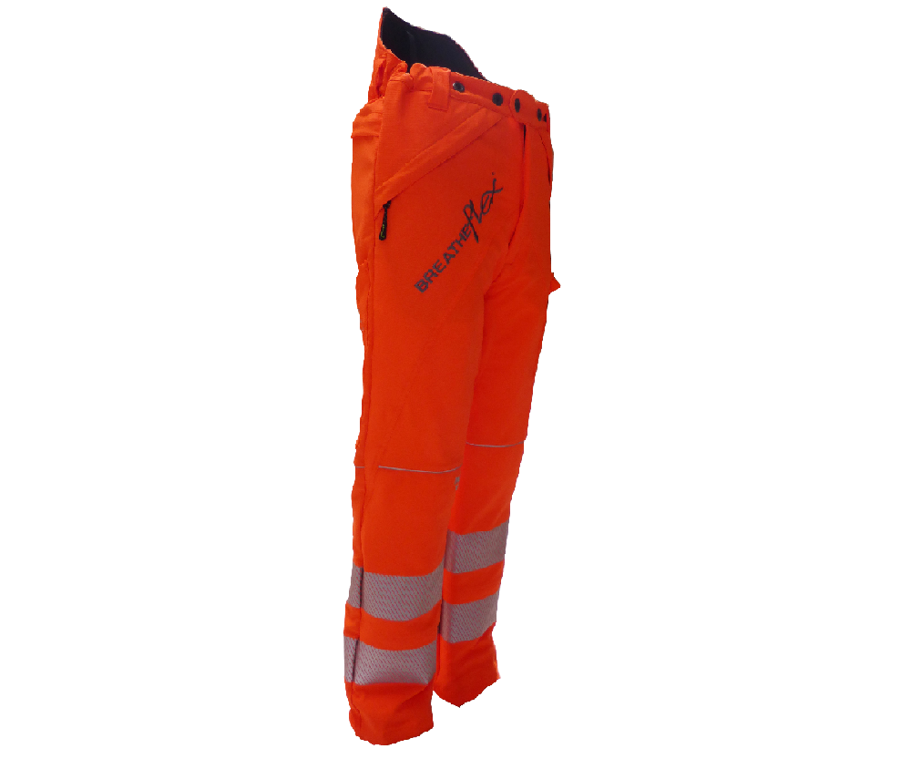 Arbortec Breatheflex GO/RT chainsaw trousers Type A, class 1 (Hi-viz orange)