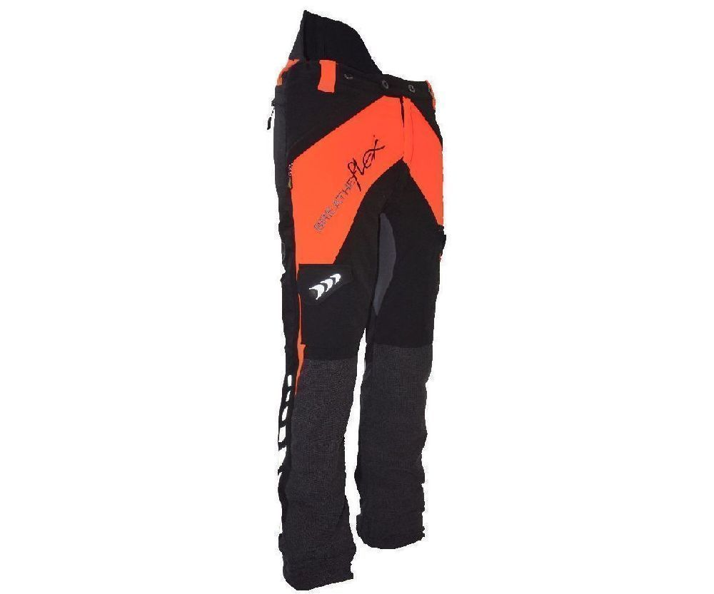 Arbortec Breatheflex chainsaw trousers Type A, class 1 (Orange)