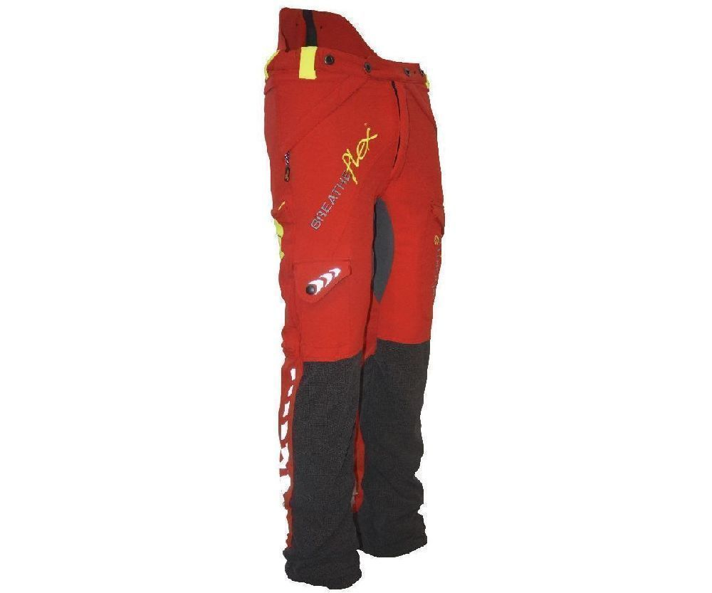 Arbortec Breatheflex chainsaw trousers Type A, class 1 (Red)