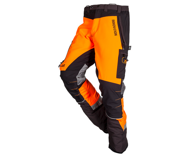 SIP Innovation Canopy W-Air chainsaw trousers Type A (Orange/Black) (Large)