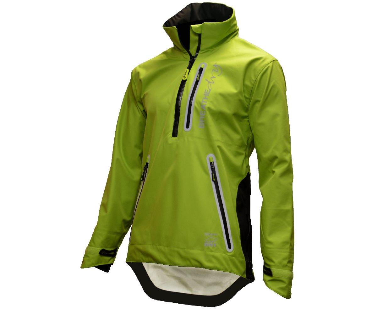 Arbortec Breathedry waterproof overhead smock (Lime) (Small)