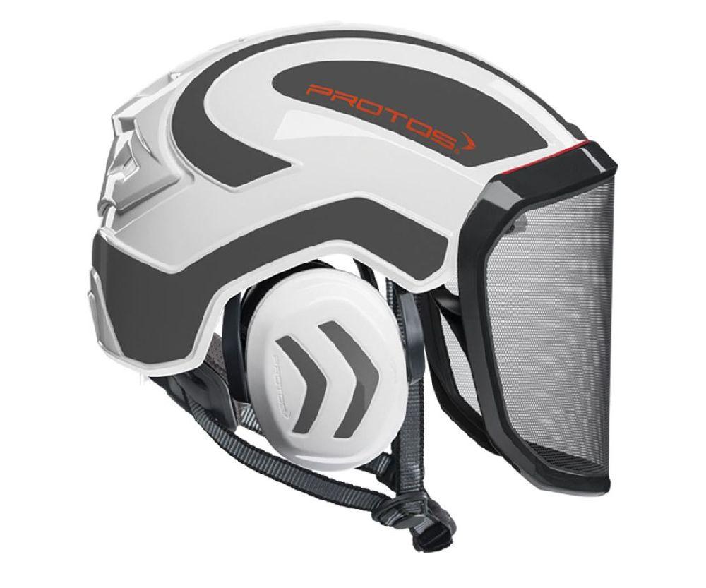 Pfanner Protos Integral arborist helmet (White/Grey)