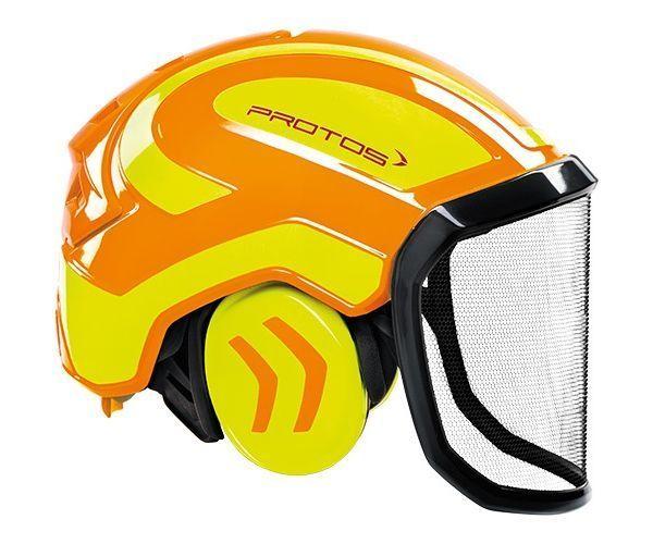 Pfanner Protos Integral forest helmet (ground use only) (Orange/Yellow)