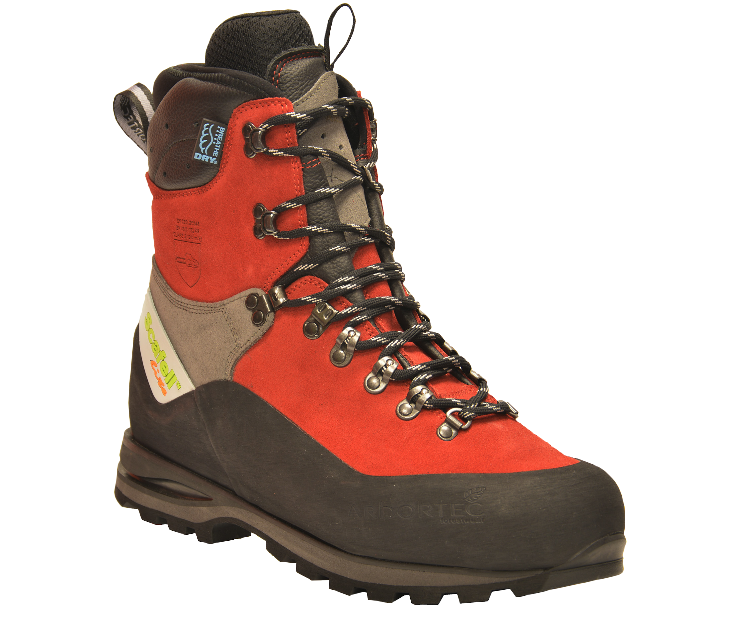 Arbortec Scafell Lite chainsaw boots (red) (class 2)