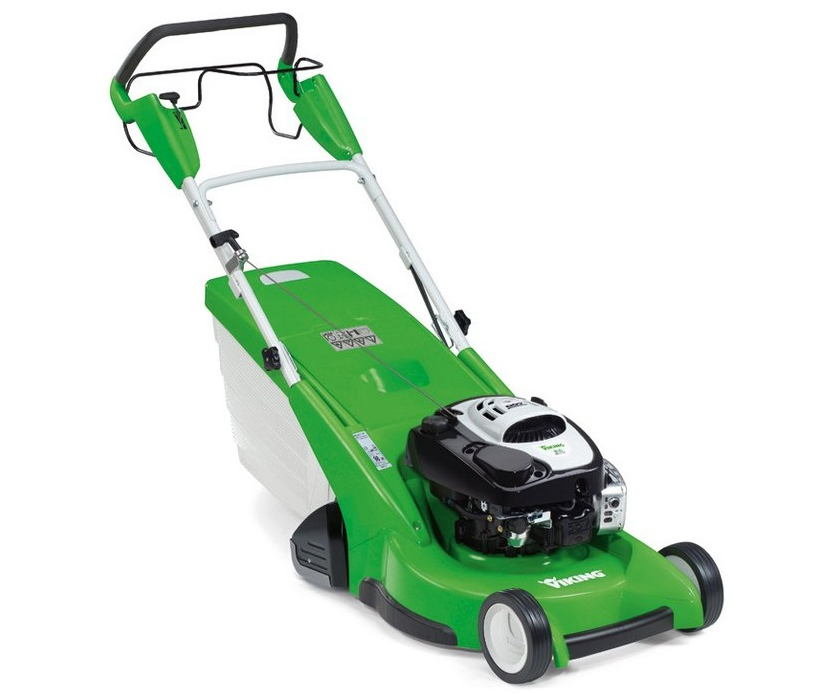 Viking MB655VR petrol self-propelled roller rotary lawn mower (53cm cut)