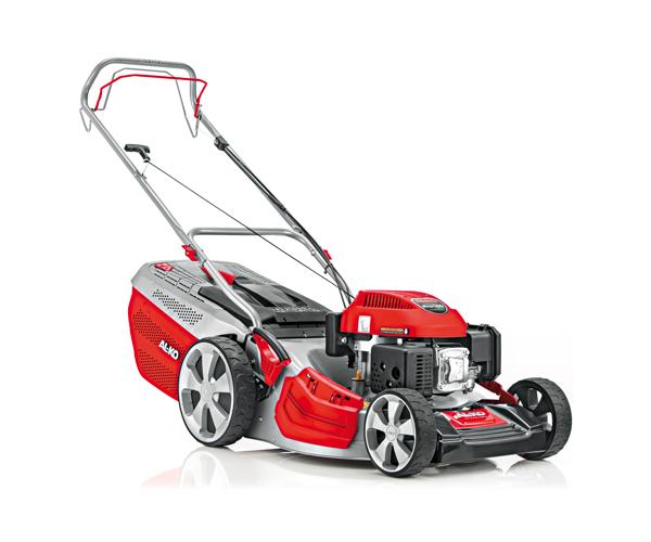 AL-KO Highline 46.7 SP-A petrol self-propelled wheeled lawn mower (46cm cut)