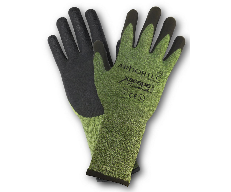 Arbortec AT2020 Cut Resistant extendend cuff gloves (Size 7)