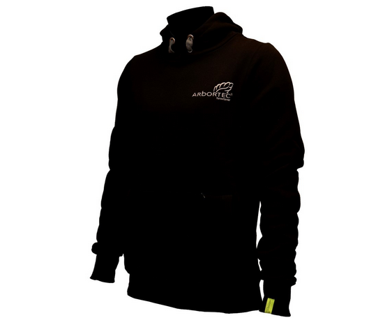 Arbortec hi-neck 'Protecting Your Lifestyle' hoodie (Black) (Small)