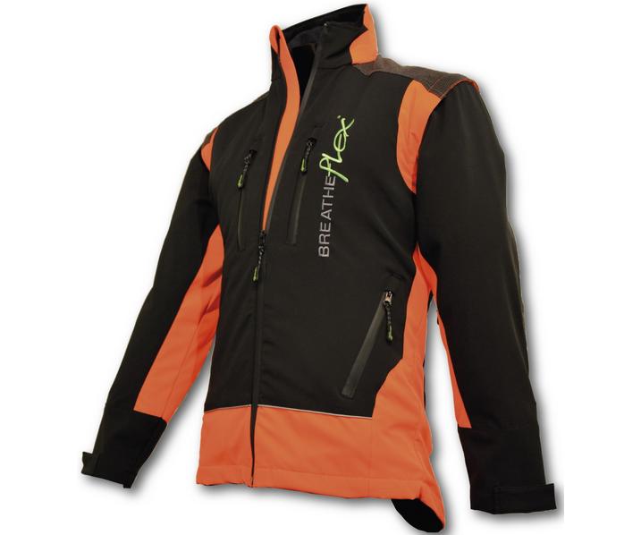 Arbortec Breatheflex performance work jacket (Orange/black)