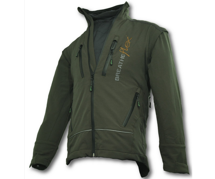 Arbortec Breatheflex performance work jacket (Olive Green) (Small)