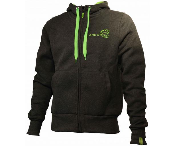 Arbortec zip front 'Protecting Your Lifestyle' hoodie jacket (Grey)