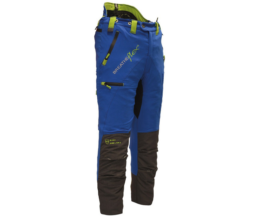 Arbortec Breatheflex Pro chainsaw trousers Type A, class 1 (Blue)