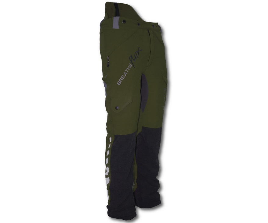 Arbortec Breatheflex chainsaw trousers Type A, class 1 (Olive Green)