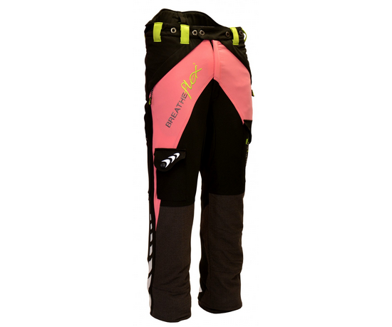 Arbortec Breatheflex chainsaw trousers Type A, class 1 (Pink)