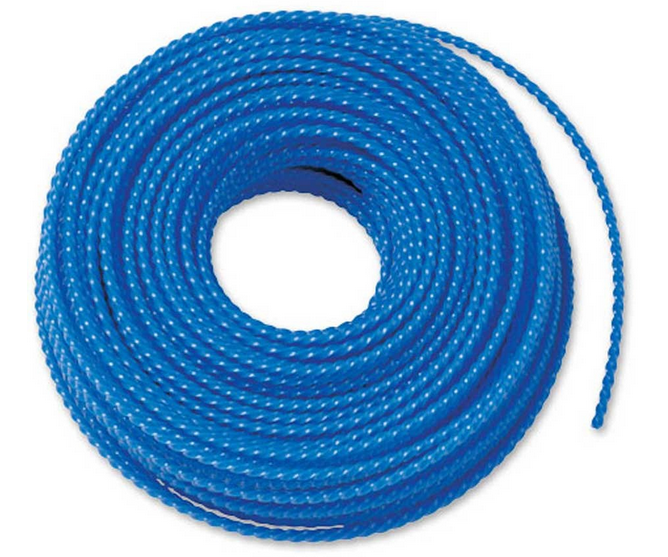 DR 4.5mm blue nylon strimmer line (80ft)