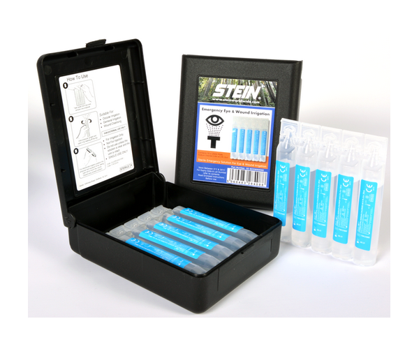 Stein sterile eye and wound wash x10