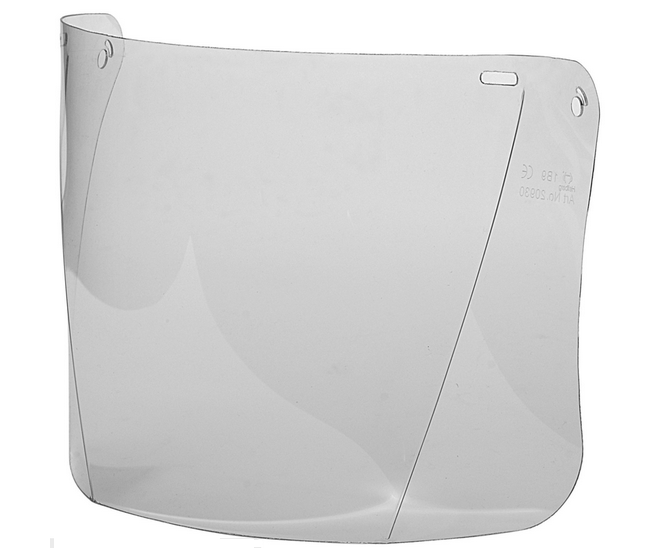 Hellberg clear polycarbonate visor