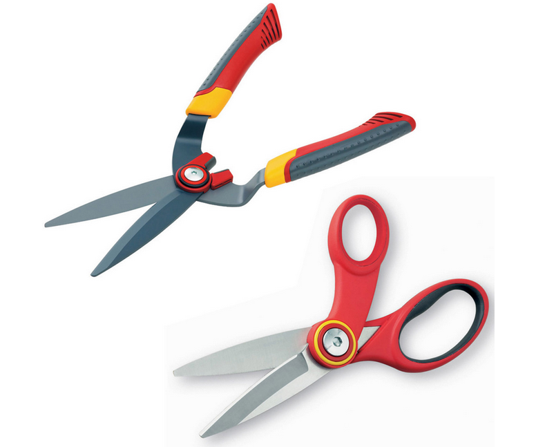 Wolf Garten box tree shears and multi purpose scissors