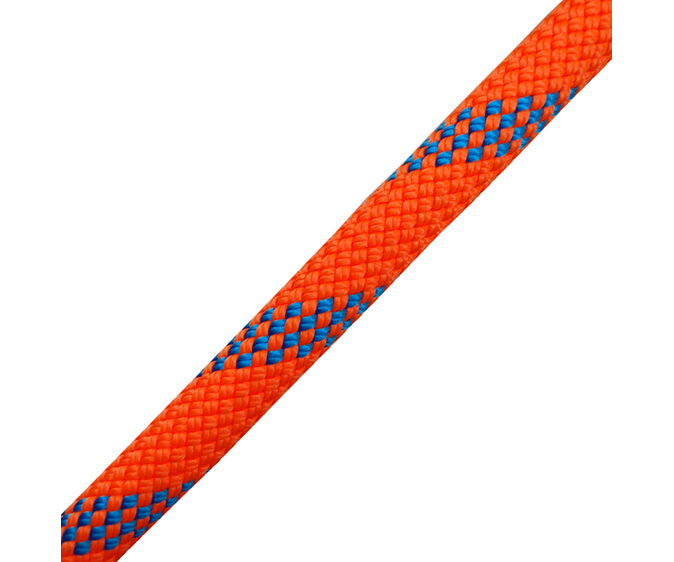 Yale Kernmaster 11mm climbing rope for SRT (unspliced) (Orange & Blue)