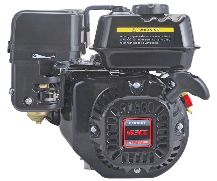 Loncin G160F 4.8HP shaft engine