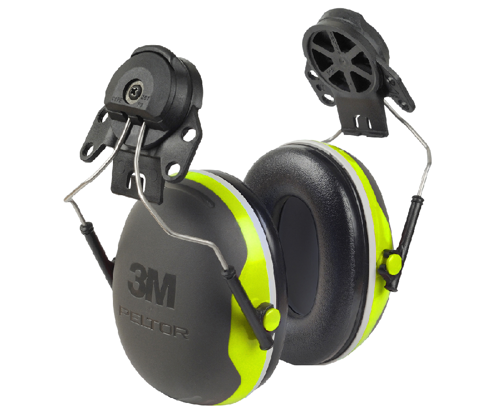 Peltor X4 ear defenders for helmet (32 SNR) (slimline)