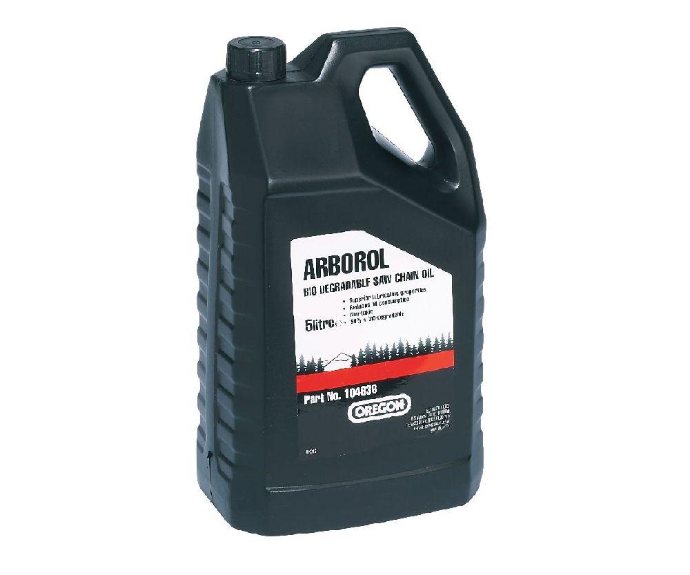 Oregon Arborol Plus bio-degradable 5 litre chain oil
