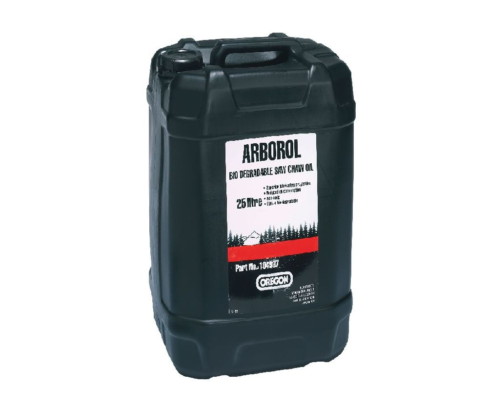 Oregon Arborol Plus bio-degradable 25 litre chain oil