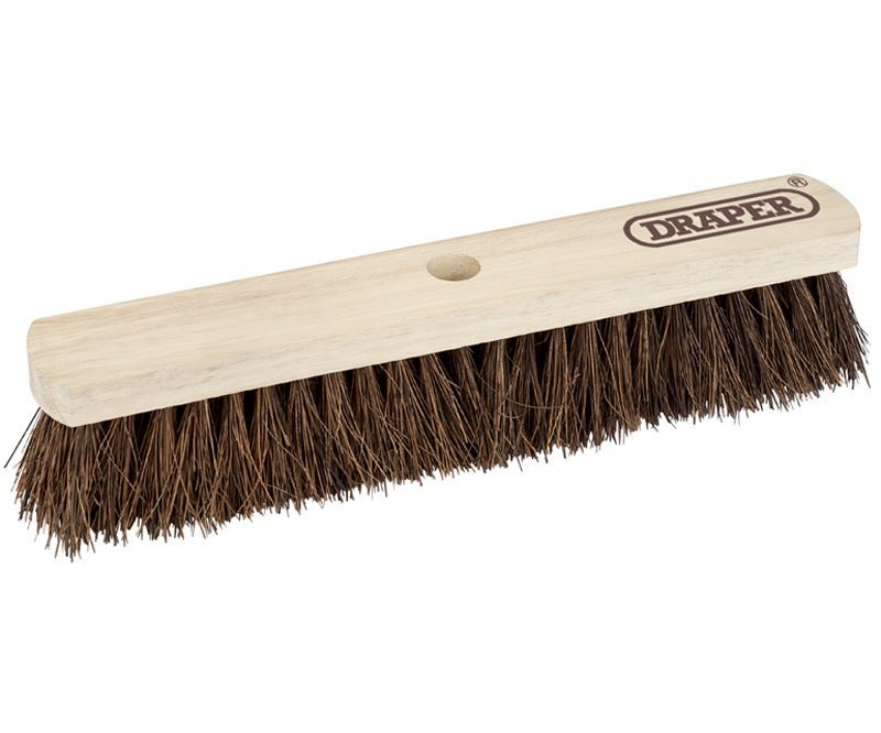 Draper 450mm stiff bassine broom head