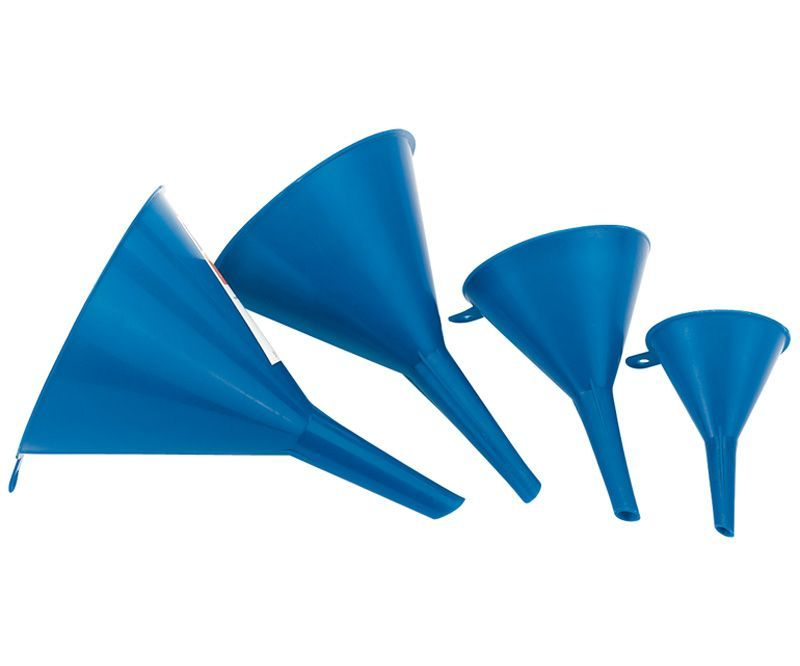 4 Piece plastic funnel set