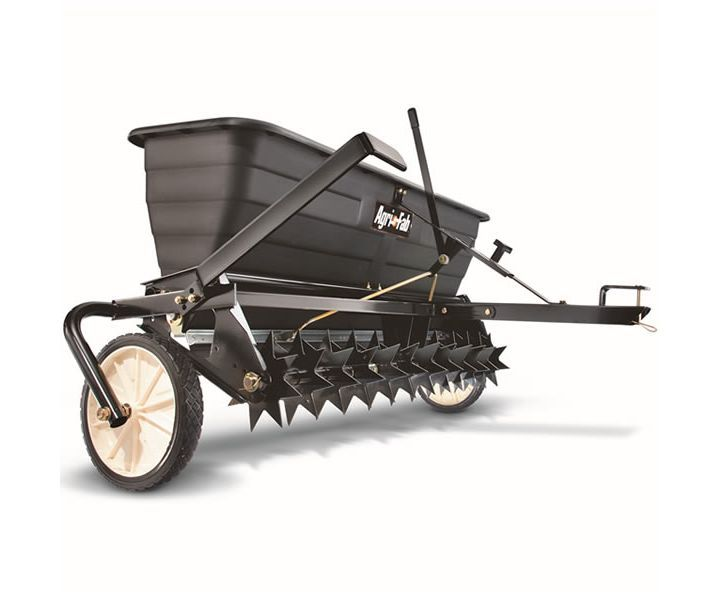 Agri-Fab 45-0301 tow-behind spike aerator/spreader (175lb)