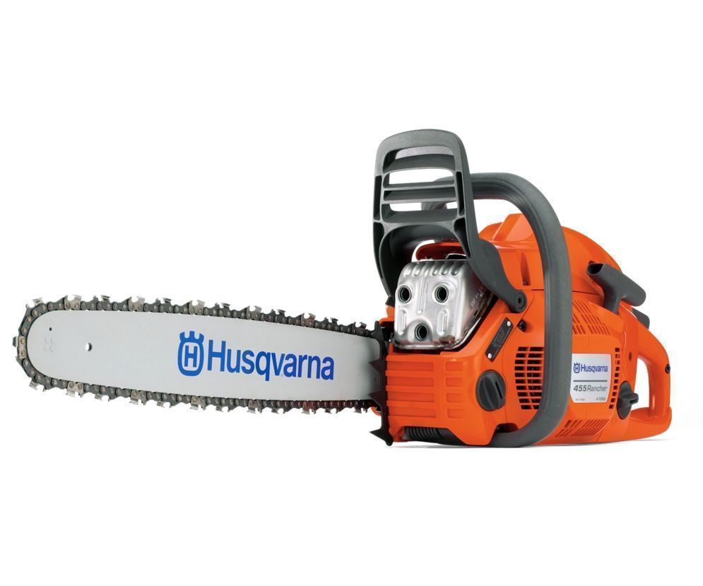 Husqvarna 455 Rancher chainsaw (55.5cc) (18 inch bar & chain)