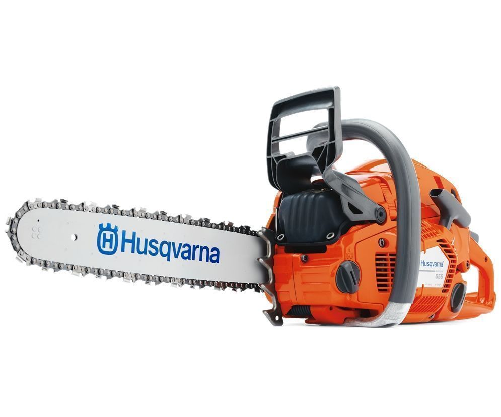 Husqvarna 555 chainsaw (59.8cc) (18 inch bar & chain)