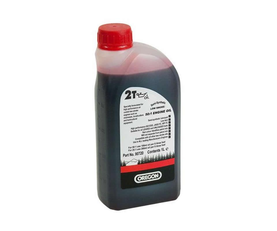 Oregon 2T Semi-Synthetic two stroke 1 litre oil
