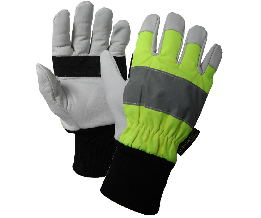 Arbortec AT850 Hi-Vis chainsaw gloves (Class 1)