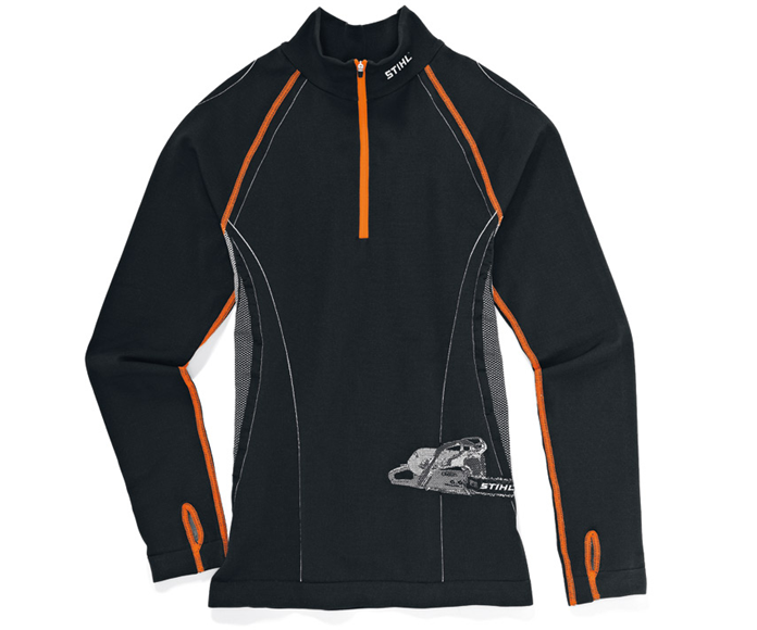 Stihl Advance long sleeve base layer top (black)