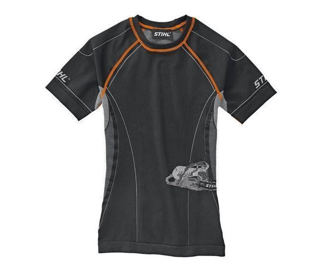 Stihl Advance short sleeve base layer top (black)