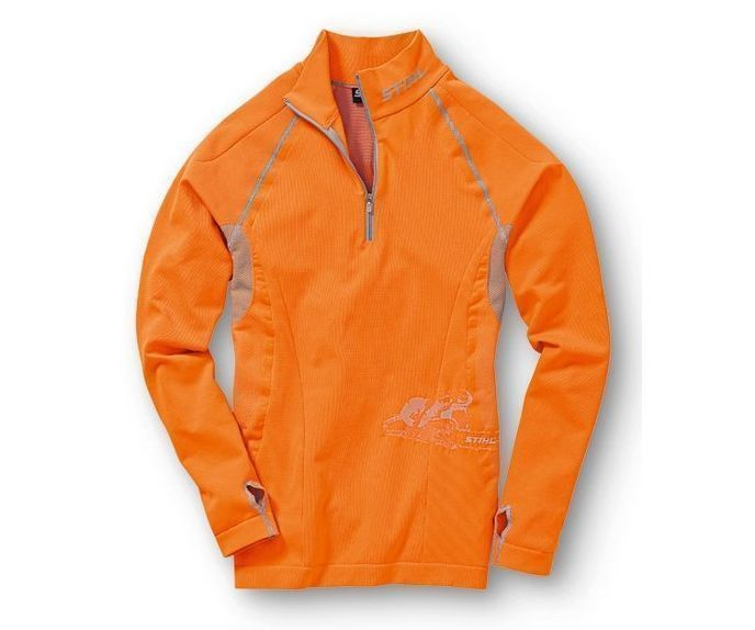 Stihl Advance long sleeve base layer top (orange)
