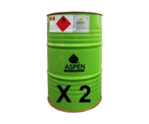 2 Drums - Aspen 2 Alkylate petrol ready-mixed - 200 litre drum  (two stroke)