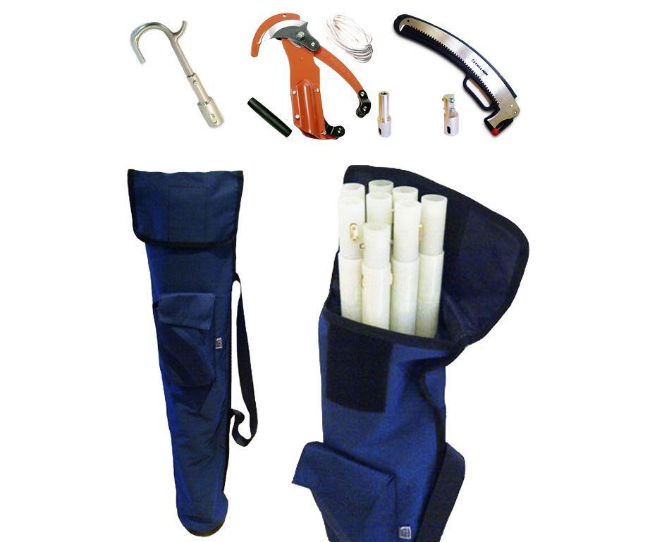 AUS utility fibreglass pro pruning pole set