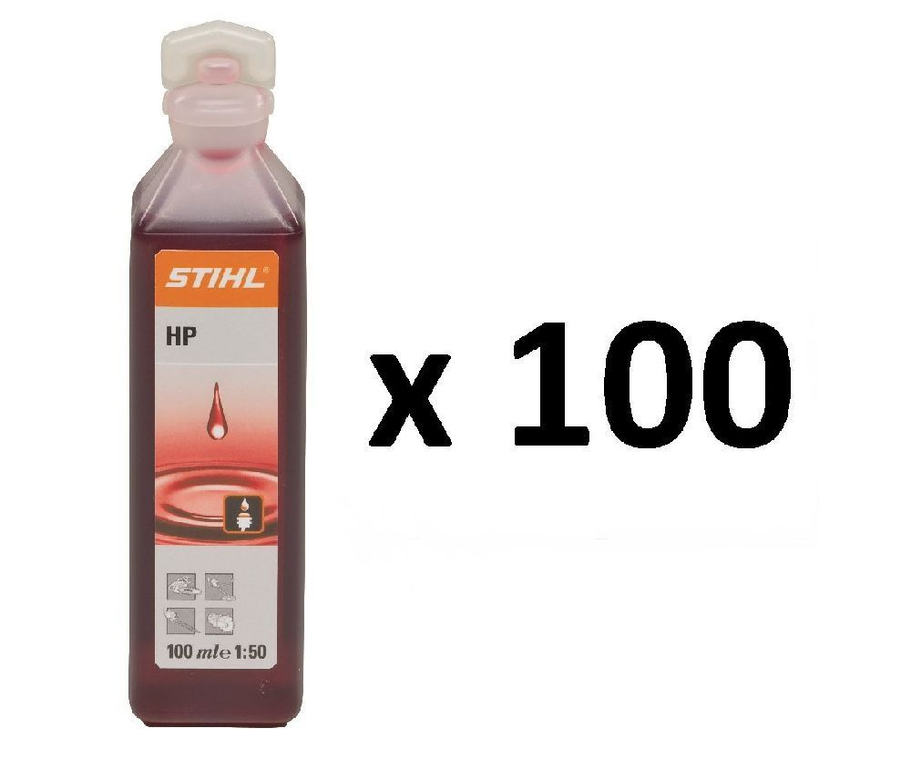 Stihl HP two stroke engine oil (1 shot) (box of 100)