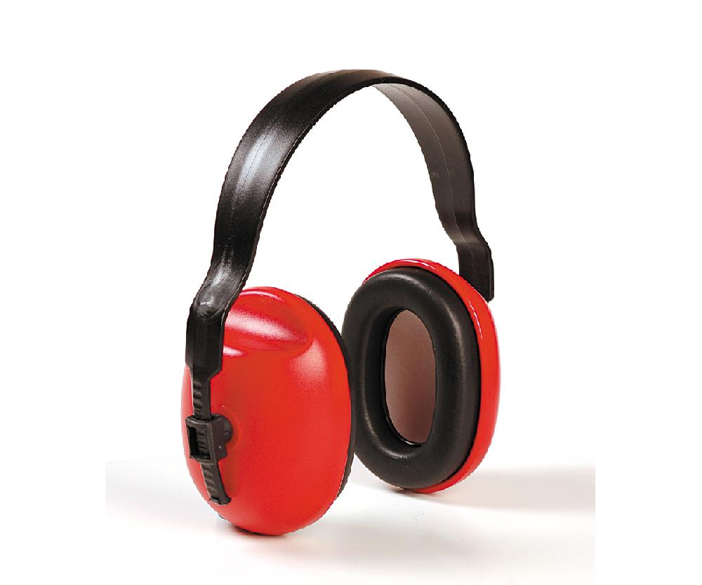 Hellberg PoP headband ear defenders (red) (24 SNR)