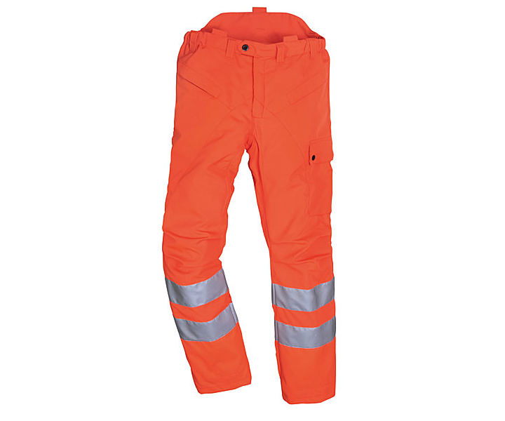 Stihl High visibility GO/RT chainsaw trousers Type C, class 1 (Large)