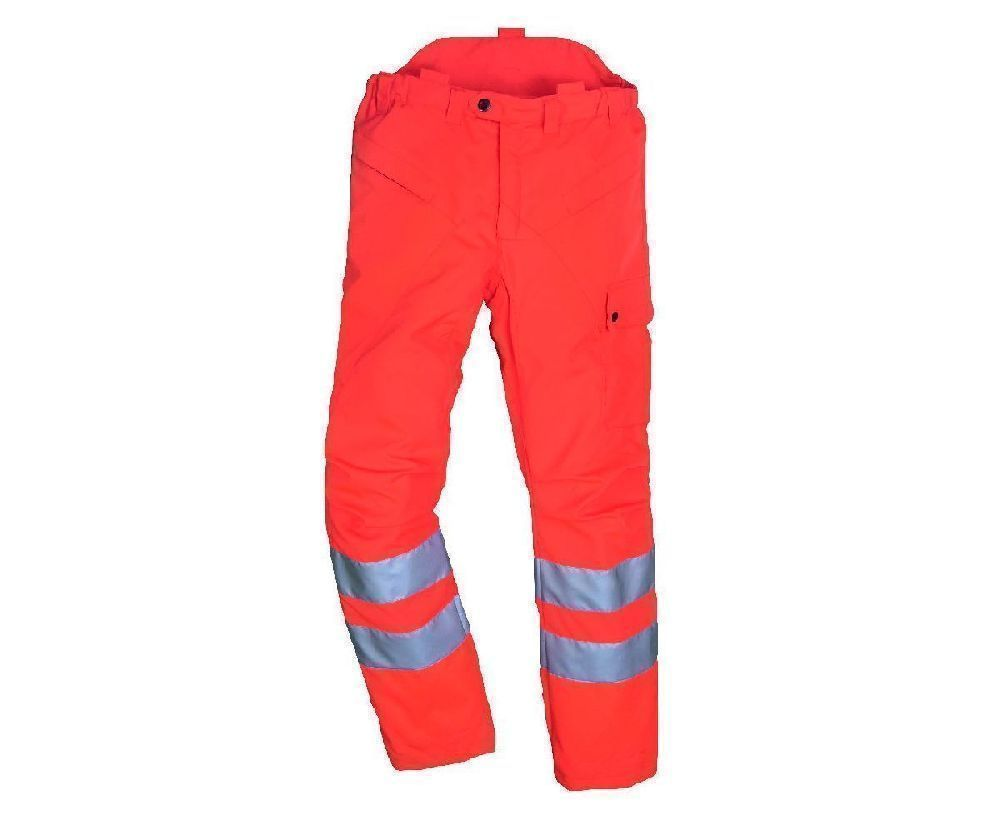 Stihl high visibility GO/RT chainsaw trousers Type C, class 2