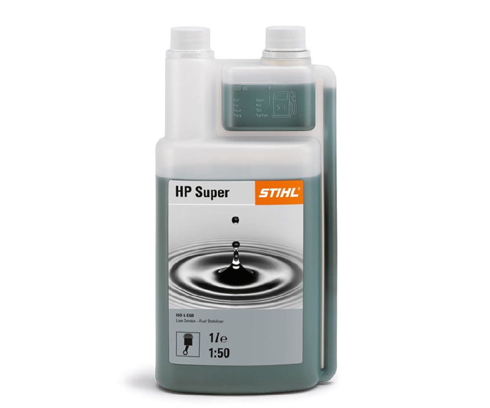 Stihl HP Super two stroke engine oil (1 litre measured bottle)