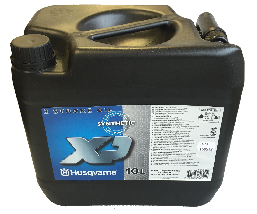 Husqvarna two stroke XP synthetic oil (10 litre)