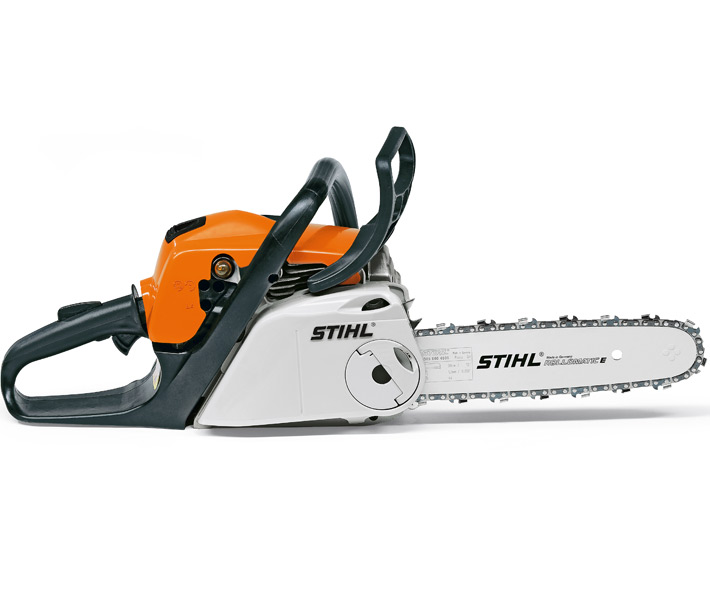 Stihl MS 181 C-BE chainsaw (31.8cc) with quick chain tensioning and Ergostart (14 inch bar & chain)