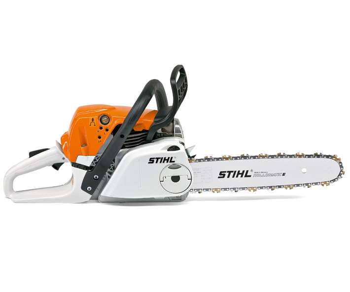 Stihl MS 231 C-BE chainsaw (42.6cc) with quick chain tensioning & Ergostart (14 inch bar & chain)