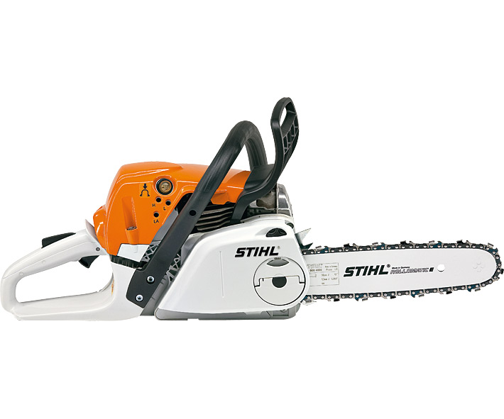 Stihl MS 251 C-BE chainsaw (45.6cc) with quick chain tensioning and Ergostart