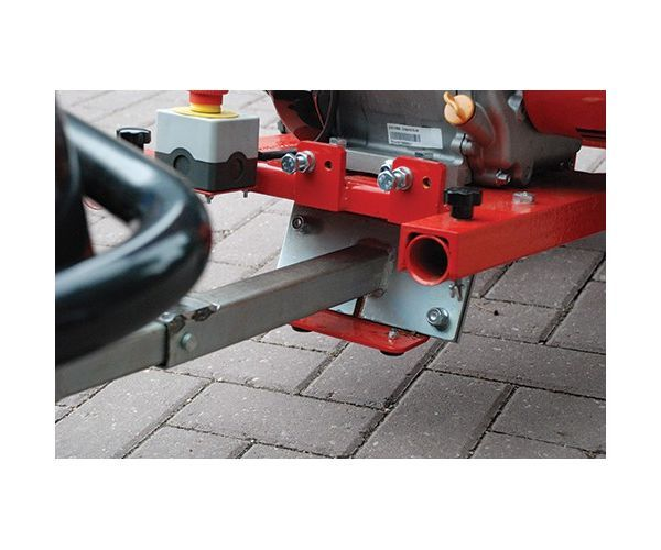Lawnflite Pro towbar for the GTS1300L wood chipper