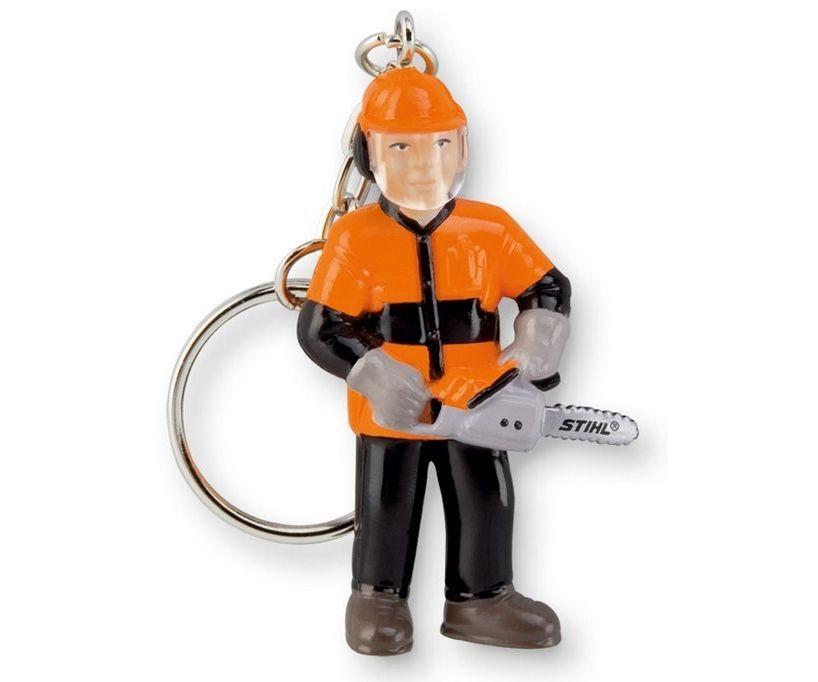 Stihl chainsaw man keyring